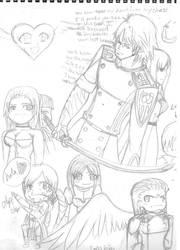 Doodles :DMC4: by MindForcet