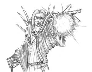 Sorcerer's energy bolt