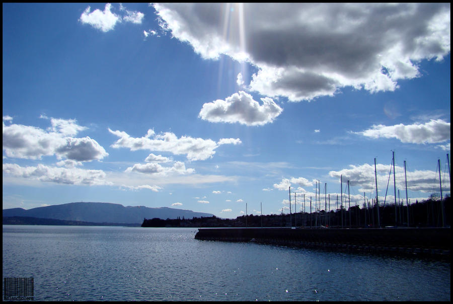 my blue heaven by Melancholera