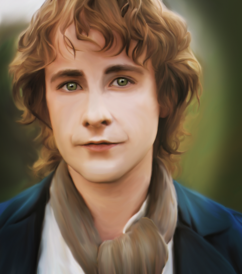 dibujos - el Hobbit  impresionantes dibujos Peregrin_took_by_ampenergy-d4qko9h