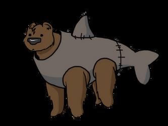 The Bearshark by LittleTurtleDuck