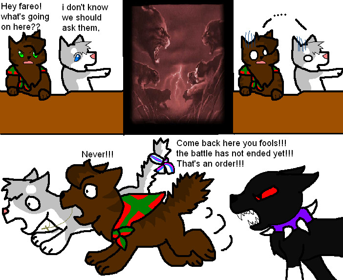 Warrior Cats Oc Comic
