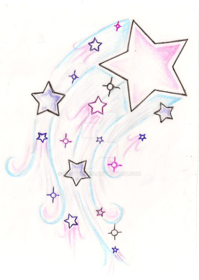 Shooting Star Tattoo By Metacharis On Deviantart