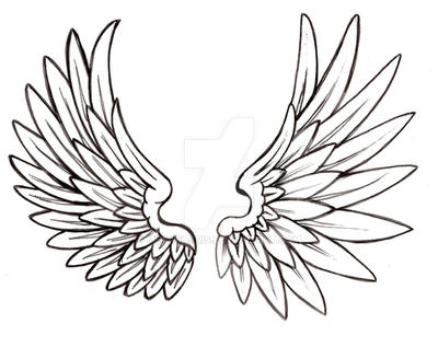 Angel Wing Tattoo By Metacharis On Deviantart