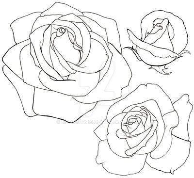 Rose Tattoo By Metacharis On Deviantart