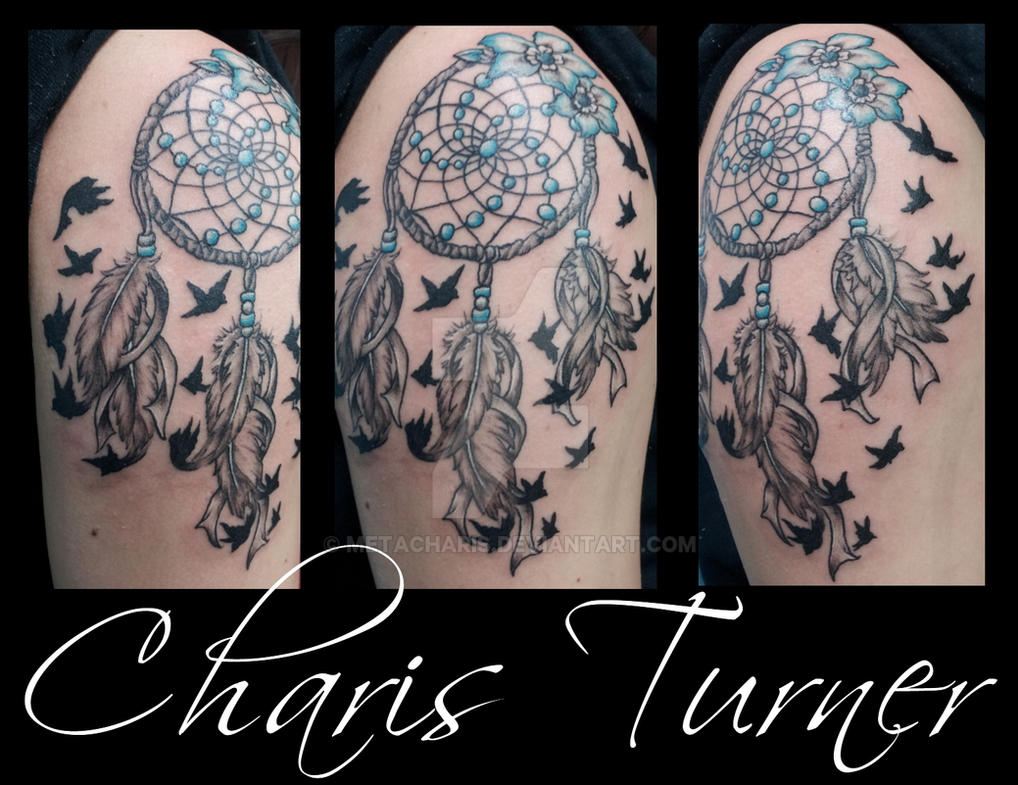 dreamcatcher birds of a feather tattoo by metacharis on deviantart. Black Bedroom Furniture Sets. Home Design Ideas