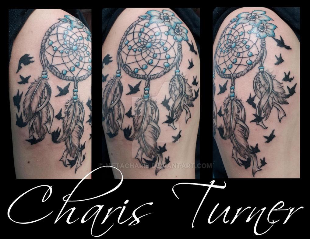 dreamcatcher birds of a feather tattoo by metacharis on deviantart. Black Bedroom Furniture Sets. Home Design Ideas