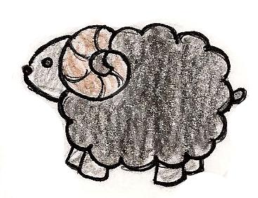 Evil black sheep