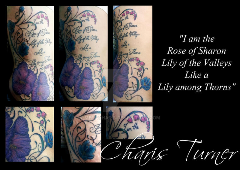 Rose Of Sharon Tattoo By Metacharis On Deviantart