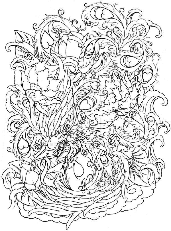 Phoenix Tattoo By Metacharis On DeviantArt