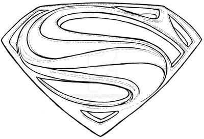 Superman Man Of Steel Logo Symbol Tattoo By Metacharis