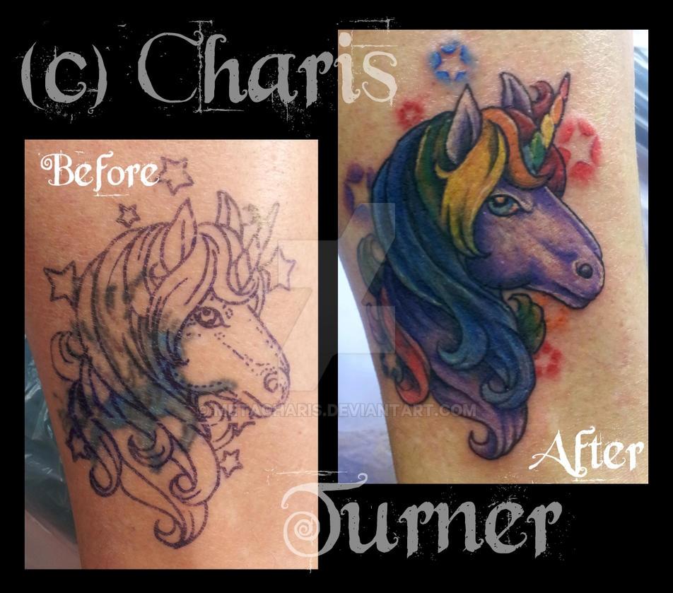 Unicorn tattoo by metacharis on deviantart for Simple unicorn tattoo