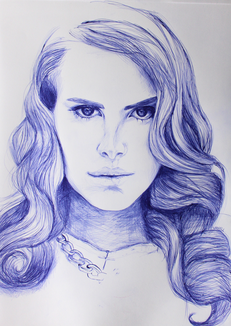 Lana Del Rey drawing by milkylibbs on DeviantArt