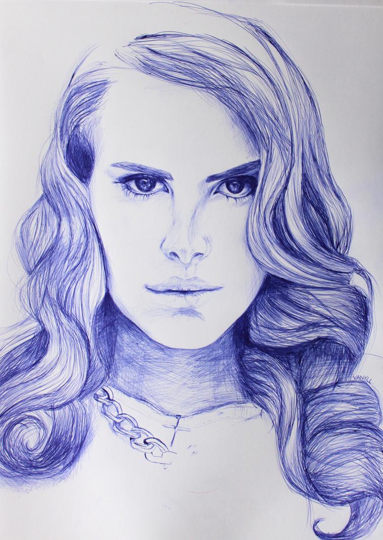 Lana Del Rey drawing by milkylibbs on DeviantArt