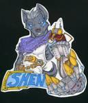 Shenro Steampunk Badge Commish