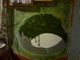 Totoro Wall Mural