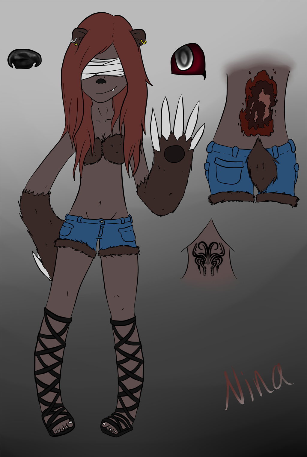 Nina Reference Sheet by madlyinlov3