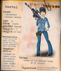 Divine Inferno OCT- NPC Melian Reference