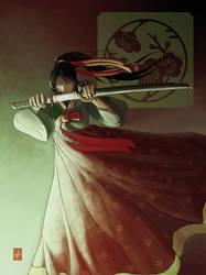 Akirako from Katana of Gion by Vyrhelle-comm