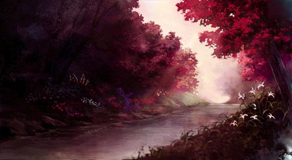 Рубиновая речка - Страница 20 Landscape_by_amahane