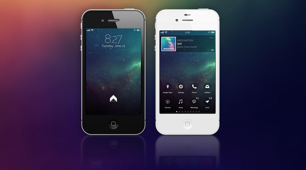 enad iphone 4s by enad911