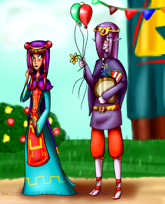 Commission--''Fun'' at the Festival by MissStar091995