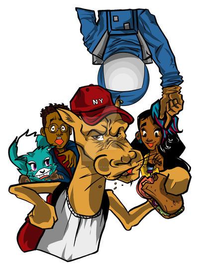 The Asha Gang Group drawing 1