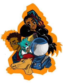 The Asha Gang Group drawing 2