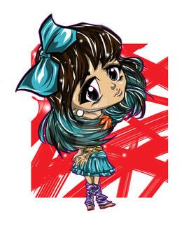 Kawaii Chibi Digital Coloring tutorial video