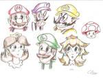 Mario Characters - Part 1