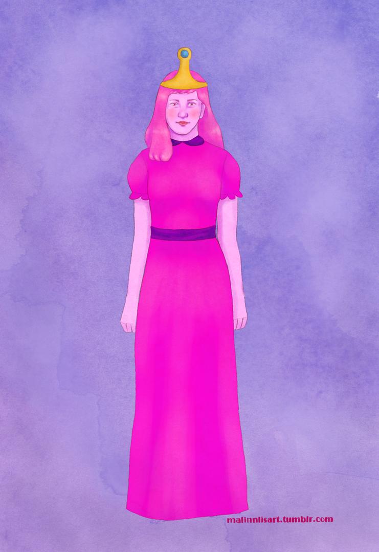 Princess Bubblegum by malinnlis