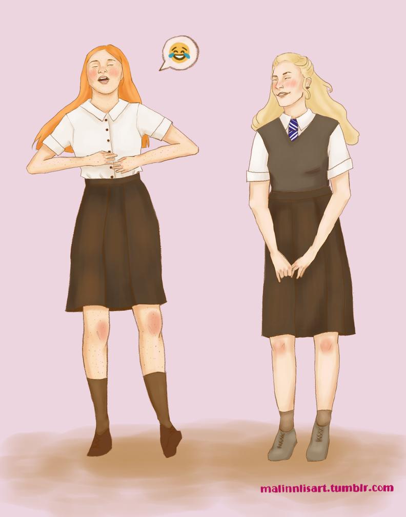Ginny X Luna by malinnlis