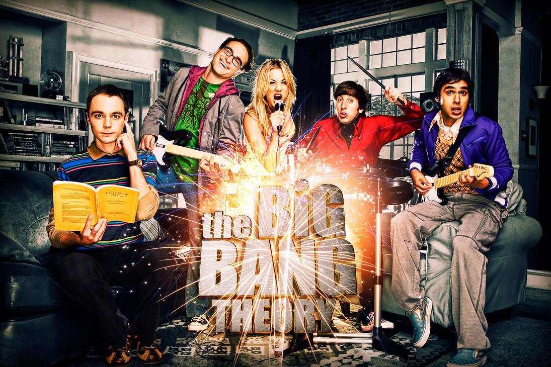 The Big Bang Theory by SE7ENFX