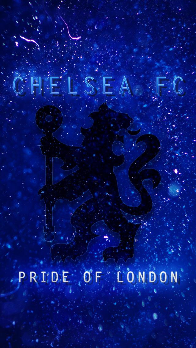 Chelsea Fc Iphone 5 Lockscreen Wallpaper By Se7enfx On