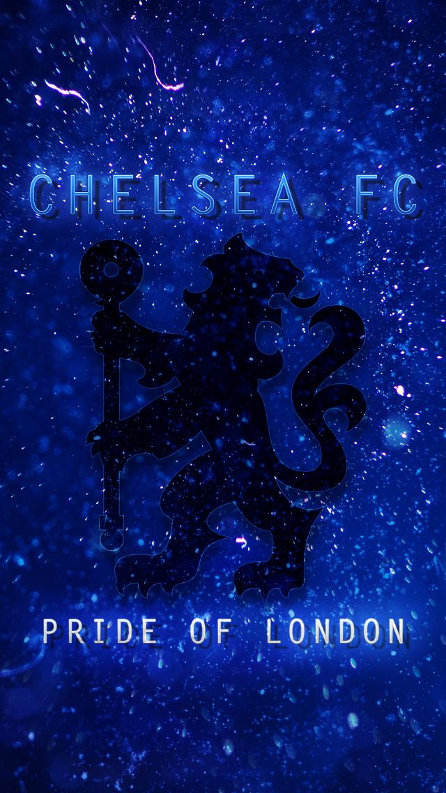 Chelsea FC IPhone 5 Lockscreen Wallpaper By SE7ENFX