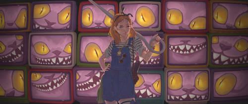 Alice In Wonderland Comission