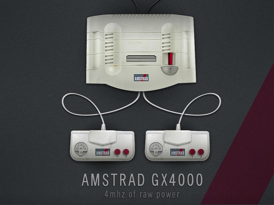 AMSTRAD GX4000 by Mellergaard