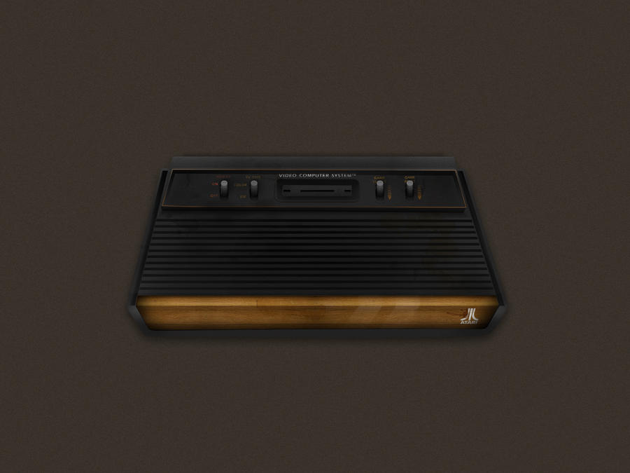 Atari 2600 Woody - 1600x1200 by Mellergaard