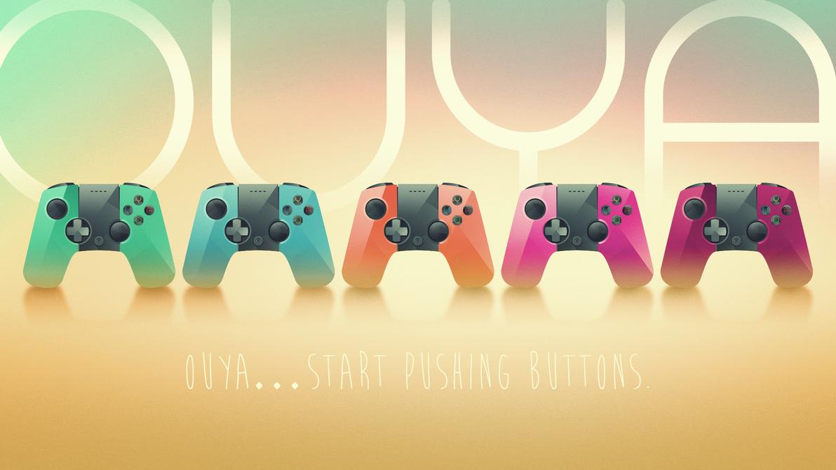 OUYA ... Start pushing buttons by Mellergaard