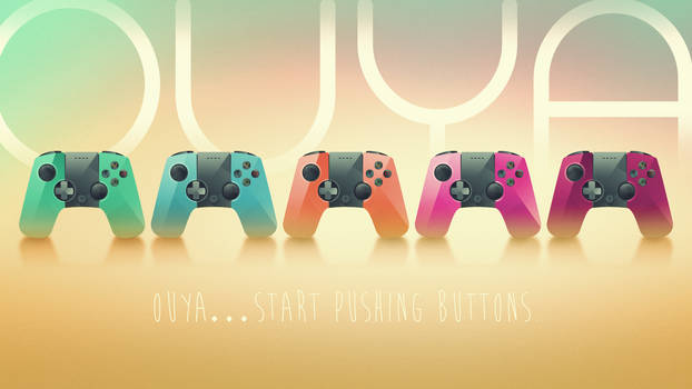 OUYA ... Start pushing buttons