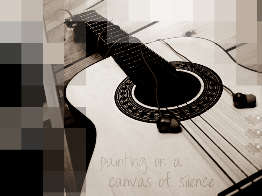 _canvas of silence_ by Friesles
