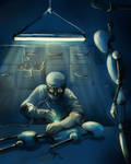 Robot lab by Alvor