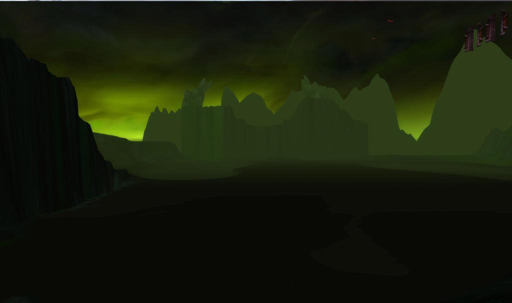 WoW Screenshot   me below Iskar's room 2 by RhennSacara