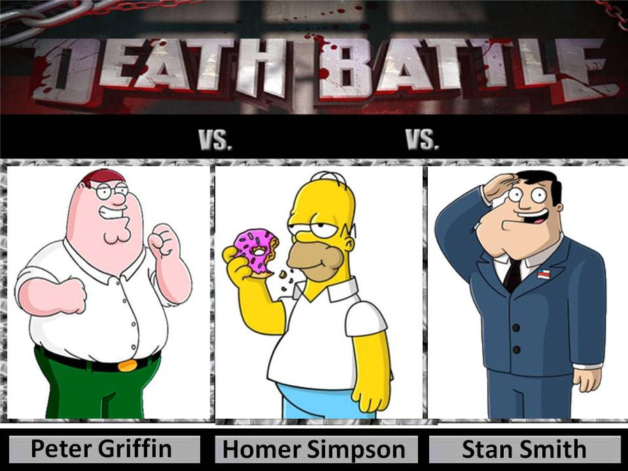 Peter Griffin Vs Stan Smith