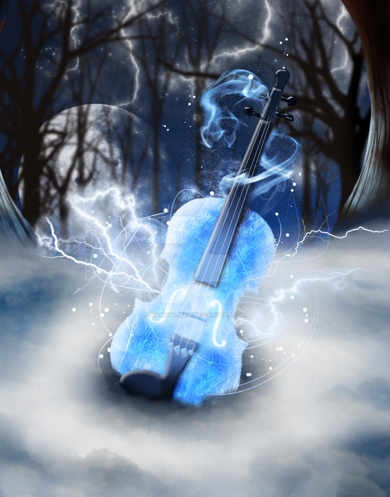 Violin Electricity by Diamond-Paw