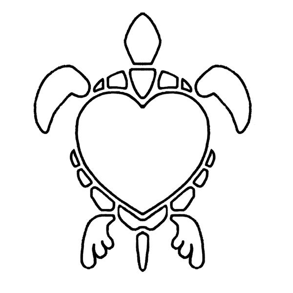 Line Drawing Turtle : Heart turtle line art by smocksinabox on deviantart