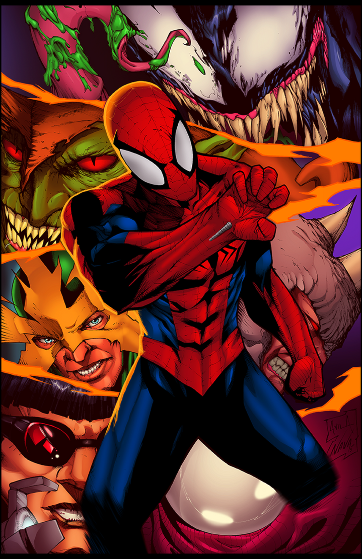 Flats Spiderman By Etavitas-dadj6jk Copy by dwa-cztery