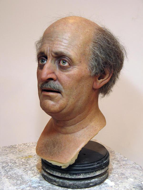 Walid Jumblatt - Silicone Bust by schellstudio