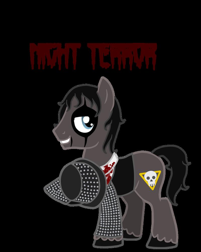 Alice Cooper pony: Night Terror by Runya-Isamu