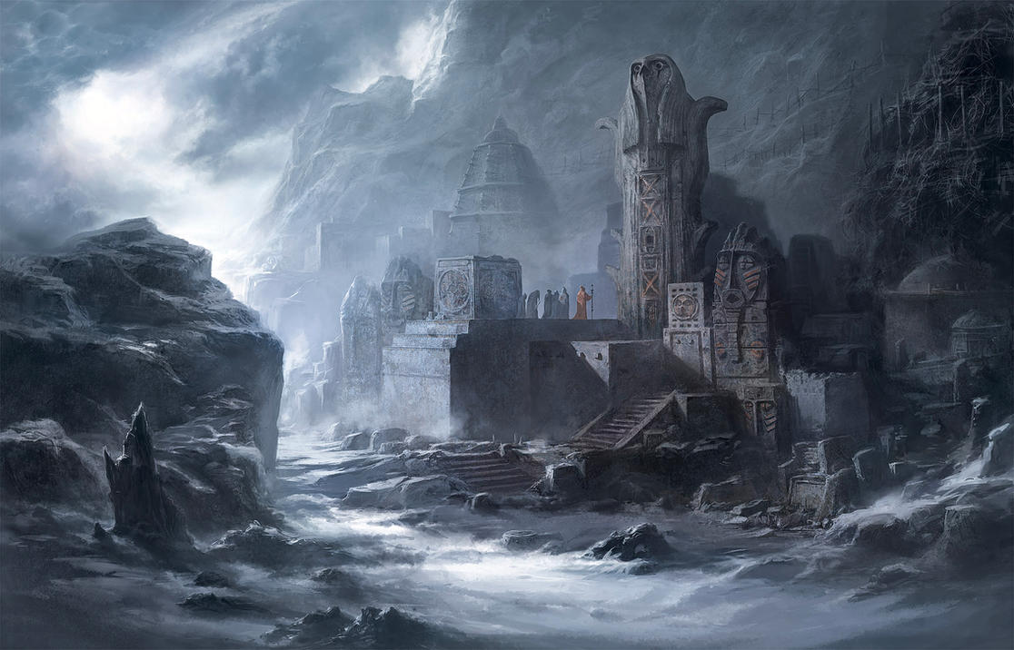 Wasteland Temple by behzadsohrabi